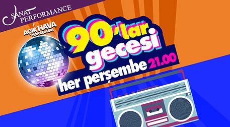 90'lar Türkçe Pop Parti - Sanat Performance Açıkhava Sahnesi - İstanbul