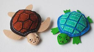 Plush Turtles
