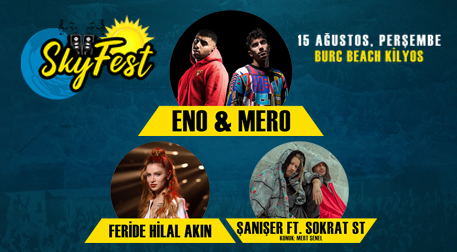SkyFest İstanbul - Eno & Mero - Burc Beach, İstanbul