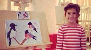 Çocuklara Yaratıcı Sanat Resim Workshopu