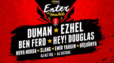 Enter The Music - Duman - Ezhel - Ben Fero - Hey Douglas - KüçükÇiftlik Park, İstanbul