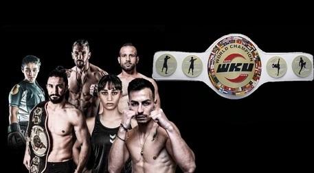 Volkan Artun Dövüş Arenası - World Golden Punch Tournament - Fuar İzmir - Gaziemir, İzmir