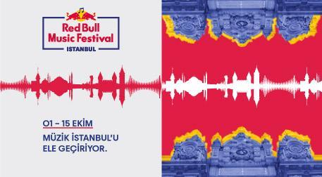 Red Bull Music Festival Istanbul - Çeşitli Mekanlar