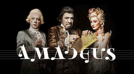 Amadeus - Çeşitli Mekanlar