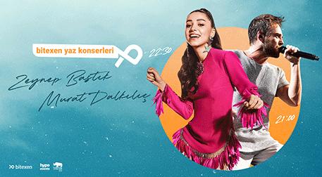 Bitexen Yaz Konserleri: Zeynep Bastık & Murat Dalkılıç - Çeşitli Mekanlar
