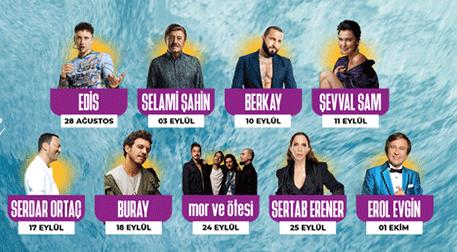 Fişekhane Deniz Sahne Konserleri - Fişekhane Deniz Sahne, İstanbul