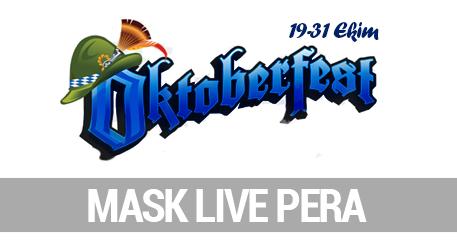 Mask October Fest - Mask Live Pera, İstanbul