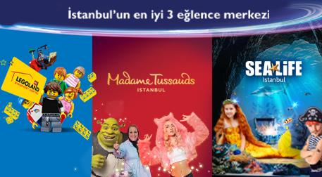 İstanbul'un En İyi 3 Eğlence Merkezi - Çeşitli Mekanlar