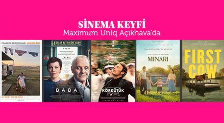 Sinema Keyfi Maximum Uniq Açıkhava'da - Maximum Uniq Açıkhava, İstanbul